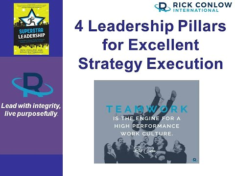 4 Leadership Pillars for Strategy Execution