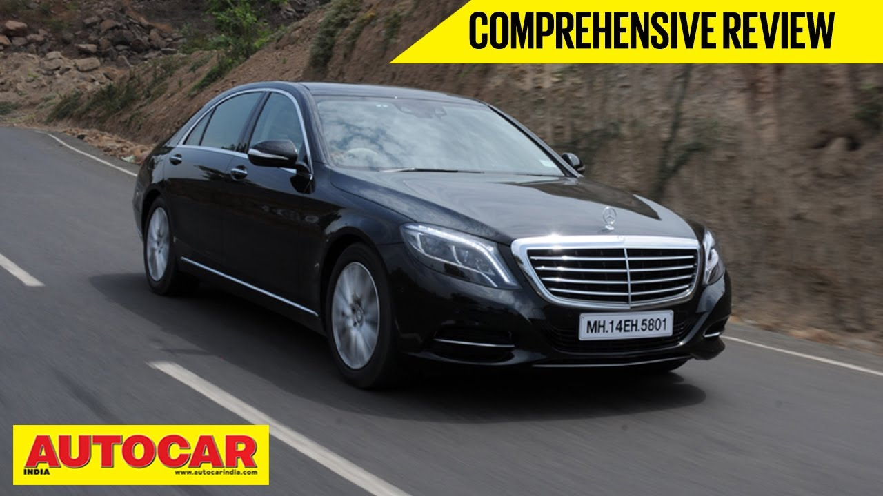 new car launches for 2014 in india2014 Mercedes Benz SClass S350 CDI  Full Roadtest Video
