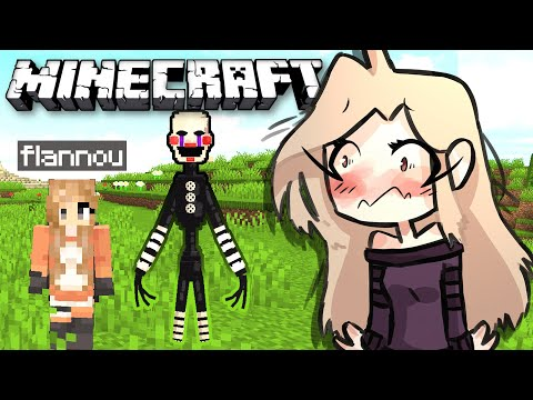 FREDDY s' ECHAPPE ??! FLANNOU vs ANIMATRONICS EP 4 !! Minecraft Survie FNAF FR