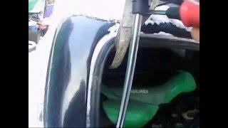 видео Новые газовы опоры на багажник ВАЗ 2112, 2111, 2110