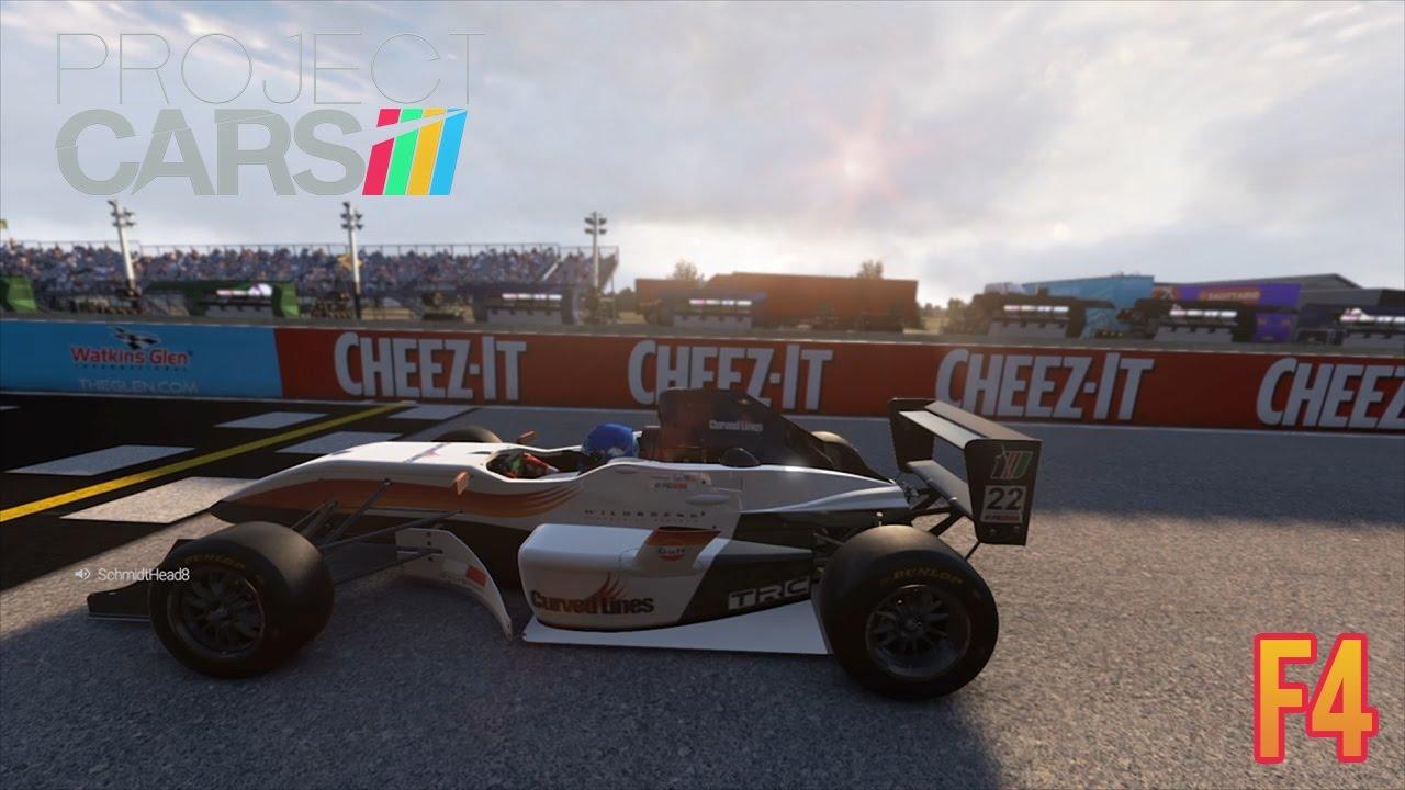 Project Cars F4 Formula Gulf 1000 Watkins Glen Youtube