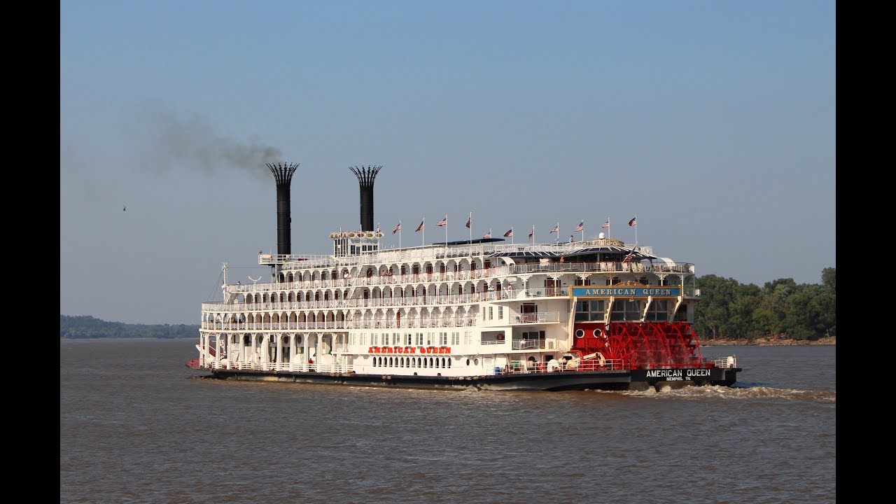 paddlewheelers other boats on the mississippi youtube