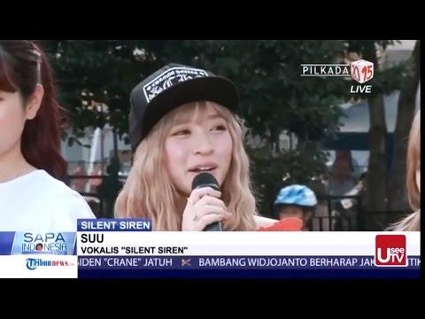 Silent Siren サイレントサイレン in KOMPAS TV Indonesia