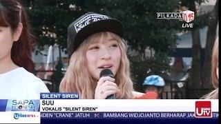 Silent Siren サイレントサイレン in KOMPAS TV Indonesia.