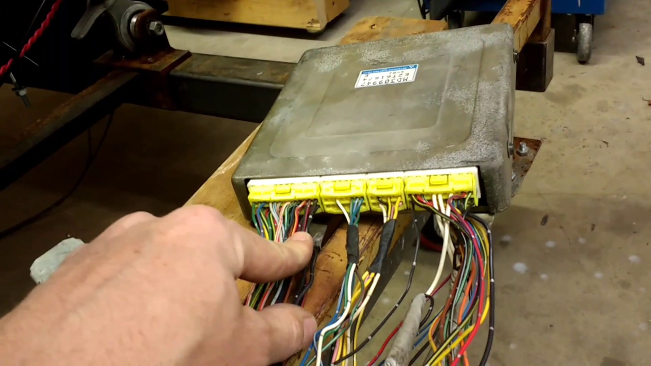 maxresdefault 95 talon (4g63 2g) wiring harness troubleshooting youtube dsm wiring harness at money-cpm.com