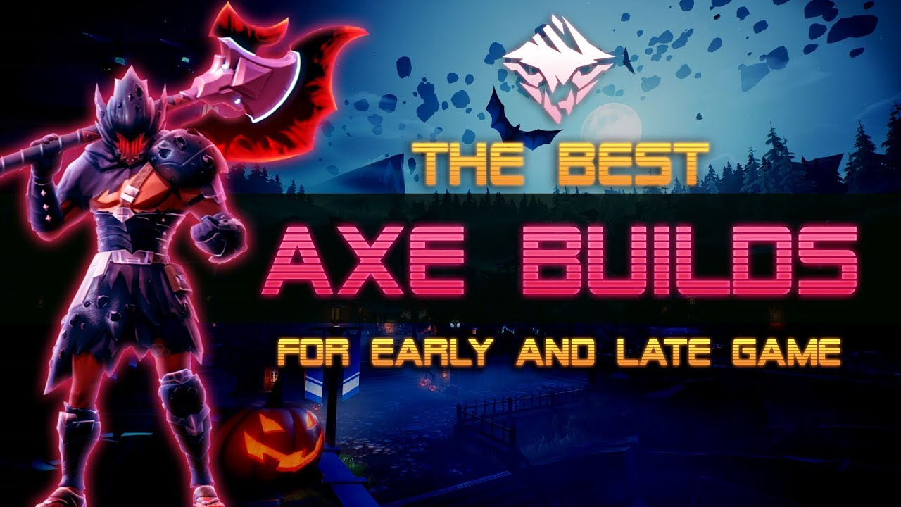The Best Dauntless Axe Build Guide For Beginners Dps Axe Gameplay Youtube