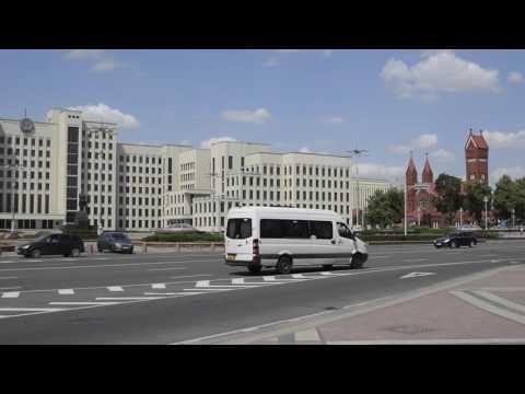 Футажи Минска. Площадь Независимости