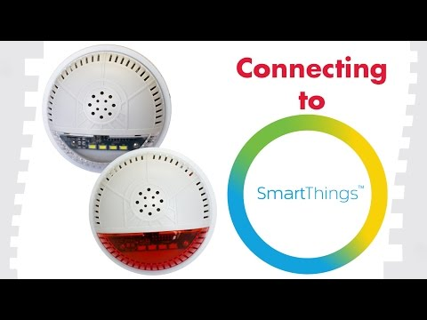 How To Connect To SmartThings: FortrezZ Indoor Siren & Strobe Alarm