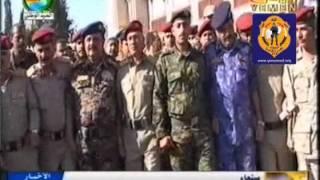 تشييع جثمان عدد من شهداء الأمن والجيش بصنعاء