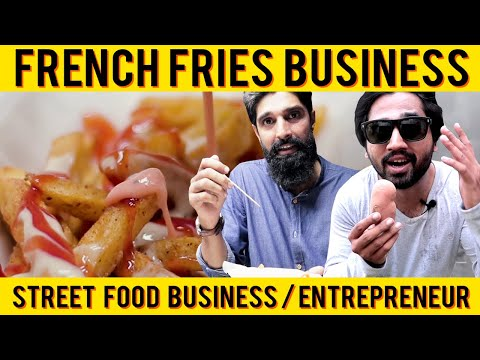 Street Food Businesses In Karachi Pakistan | Potato-Aaloo Chips | French Fries Business/Entrepreneur
