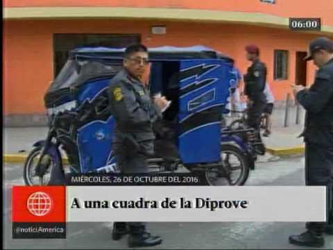 América Noticias: Primera Edición - 26.10.16