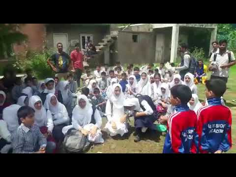 "Kashmiri School Kids Chanting ""We love Rugby"""