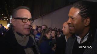 Tom Hanks Reacts to President Obama's Farewell Address