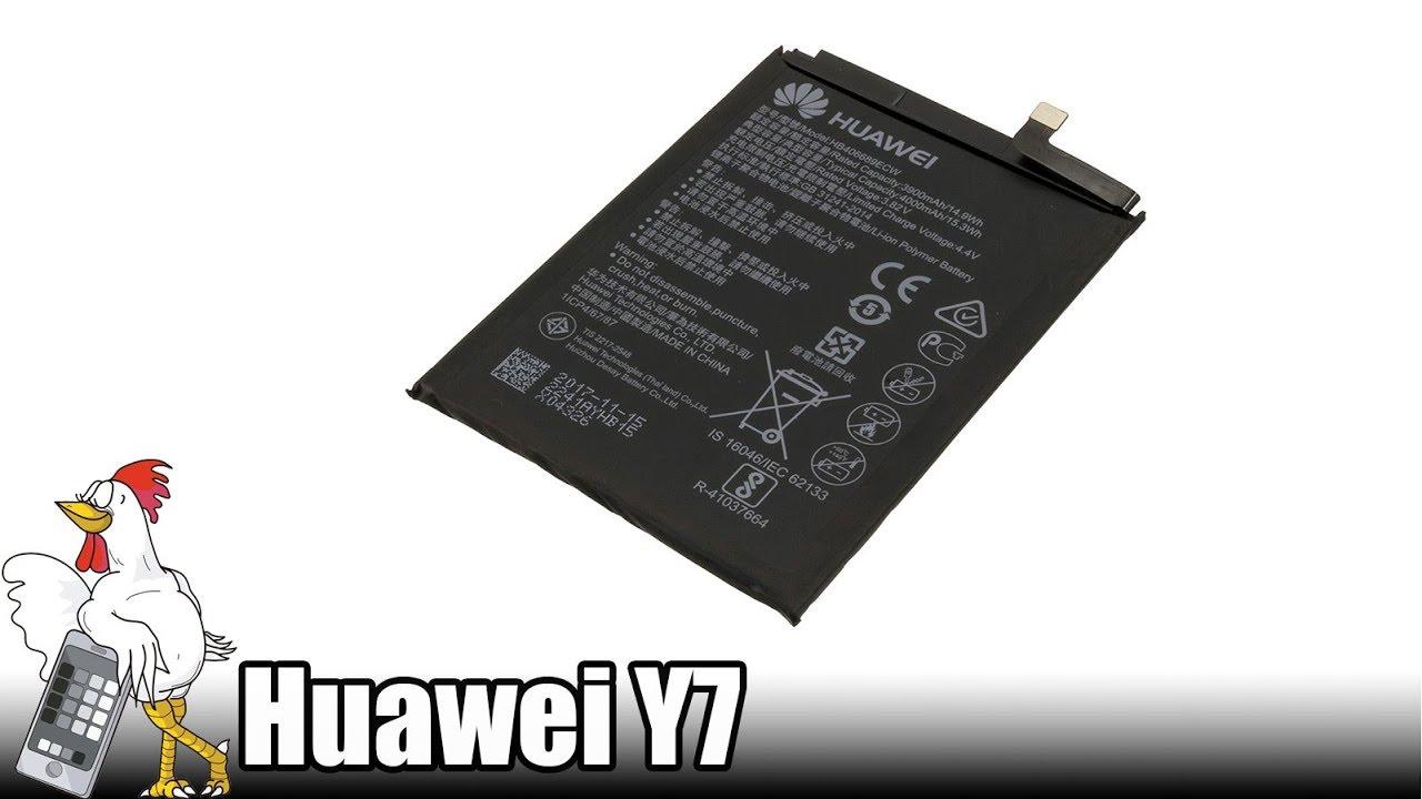 Manuales / Huawei Y7 / Battery | Nadie Me Llama Gallina