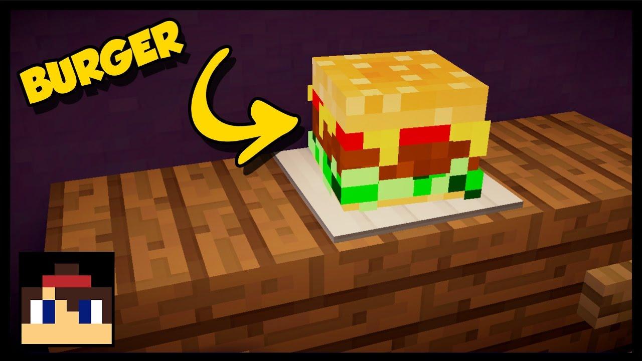 Minecraft How To Make A Hamburger Youtube Three Way Switch