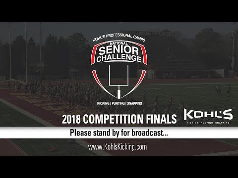 2018 National Senior Challenge | Final Competition Broadcast