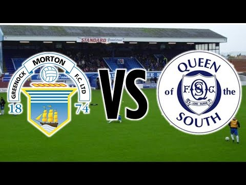 BEST GOAL EVER! | Morton v Queen of the South vlog *The Morton Journey 58*