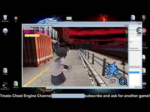 Danganronpa A.E. Ultra Despair Girls Infinite coins & bullets Tmato cheat engine
