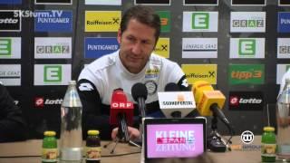 SK Sturm: Mediabriefing vor SV Grödig (2. Runde 2015/16)