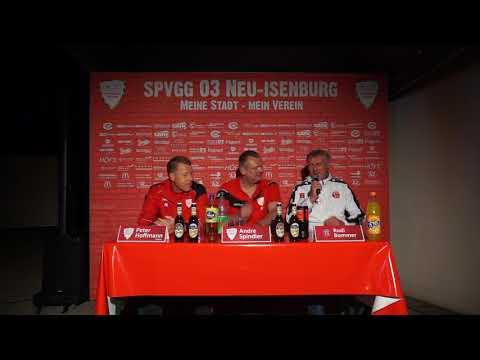 Pressekonferenz Spielvereinigung 03 Neu-Isenburg - Hessen Dreieich