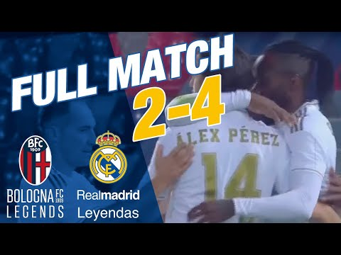 FULL MATCH | Bologna Legends 2-4 Real Madrid Leyendas