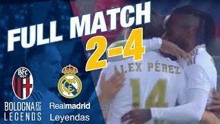 FULL MATCH | Bologna Legends 2-4 Real Madrid Leyendas