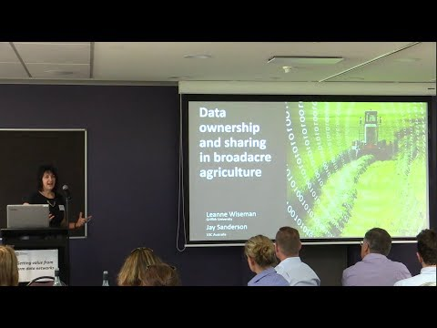 Data Ownership | Leanne Wiseman | Department of Primary Industries and Regional Development