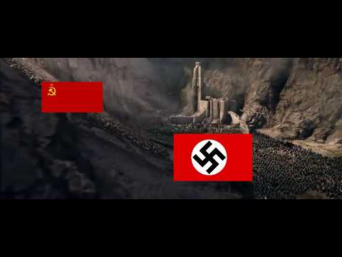 LORD OF THE RINGS: TWO TOWERS WWII MEME