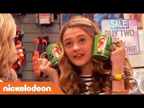 Lizzy Greene's Funniest Moments  Nicky, Ricky, Dicky & Dawn  Nick