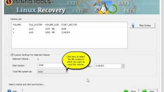 SysInfoTools Linux Data Recovery