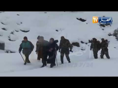 الجيش يكثف من تدخلاته لفك العزلة جراء سوء الأحوال الجوية بعدة ولايات