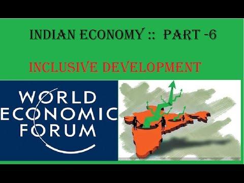 INDIAN ECONOMY :: PART -6 {INCLUSIVE DEVELOPMENT ...