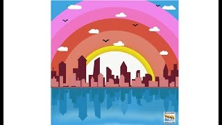 landscape #illustrations #Illustrator Hindi tutorial