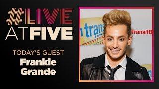 Broadway.com #liveatfive With Frankie J. Grande Of Cruel Intentions