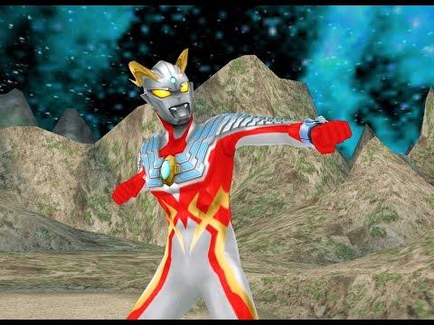 Sieu Nhan Game Play | Ultraman Zero Và Ultraman Tiga Đánh bại quái vât Ultraman allstar chronicle #1