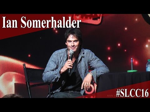 Ian Somerhalder - Full Panel/Q&A - SLCC 2016 - YouTube