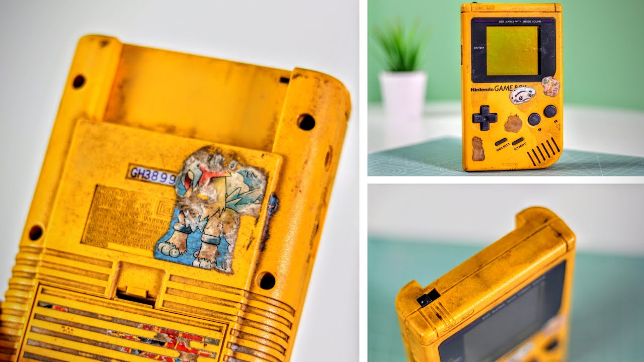 The Most DISGUSTING GameBoy Restoration!