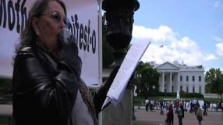 Roseanne Barr U.S. Presidential campaign announcement part 1