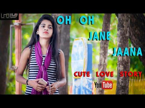 OH OH JANE JAANA || Cute Love Story || Pyar Kiya Toh Darna kiya || Salman khan || Sunil kirade