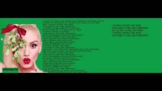 Gwen Stefani - You Make It Feel Like Christmas (Lyric Video)