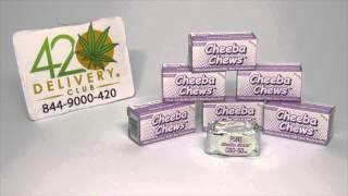 Cheeba Chew CBD review - 420 Delivery Club