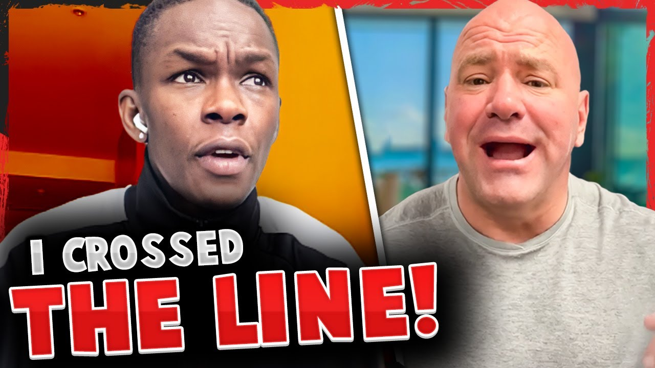 Israel Adesanya APOLOGIZES for comments on Kevin Holland, Dana White says Poirier was OFFERED title