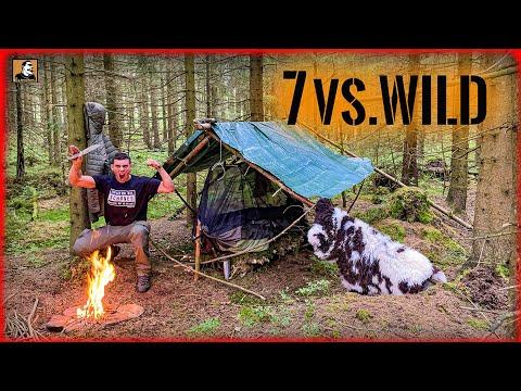 7 vs. Wild - 24h SELBSTVERSUCH mit meinen 7 Gegenständen   Survival Mattin