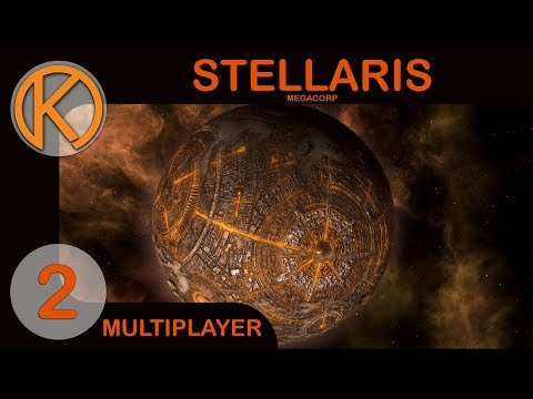 Stellaris: MegaCorp Multiplayer | FIRST CONTACTS - Ep. 2 | Let's Play Stellaris Gameplay