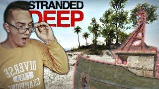 Wyspa Rozbitków!?⚓ W Poszukiwaniu Wody & Atak Rekina ✔ Stranded Deep #2