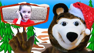 New Year Party with Nart and the Bear | Happy New Year 2020 | Nursery Rhymes And Kids Song For Kids