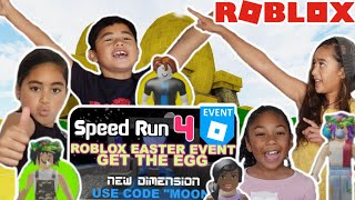 Is There A GHOST in ROBLOX Speed Run 4 | EASTER | Challenge ft. #Ninjhana | Secret Ending