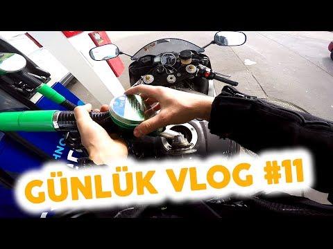 Motoru Garajdan Çıkardım - Günlük Vlog #11