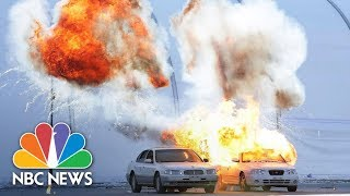 Explosions And Gunfire Rock Winter Olympic Venue During Security Drill | NBC News thumbnail