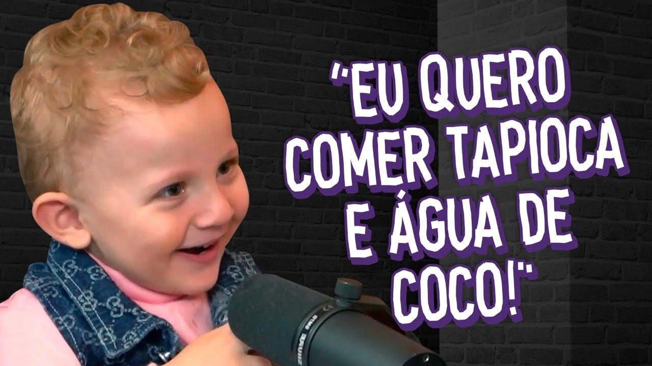 GAEL FALANDO AS COMIDAS E OS ANIMAIS!